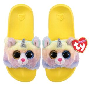 Ty Heather Yellow Beanie Boo Small Slides
