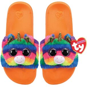 Gemma Orange Beanie Boo Medium Slides