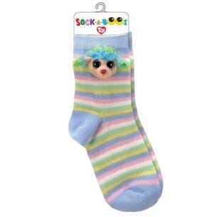 Rainbow Beanie Boo Socks