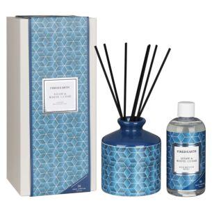 Assam & White Cedar Ceramic Reed Diffuser in Gift Box