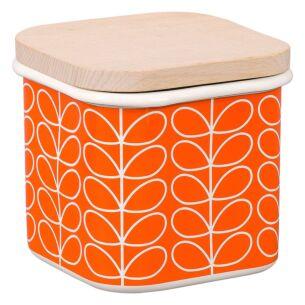 Linear Stem Persimmon Jar