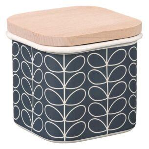 Linear Stem Slate Jar