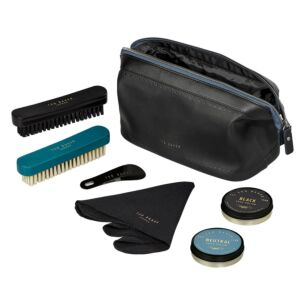 Monkian Black Brogue Shoe Shine Kit
