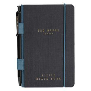 Monkian Black Mini Notebook with Pen