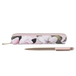 Pink Opal Touch Screen Pen with Slim Case
