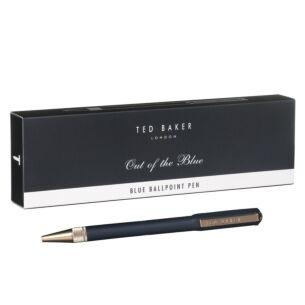 Ted Baker Ted's World Premium Blue Ballpoint Pen