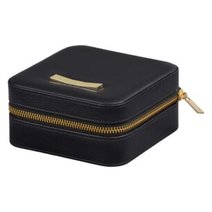 Black Zipped Jewellery Case