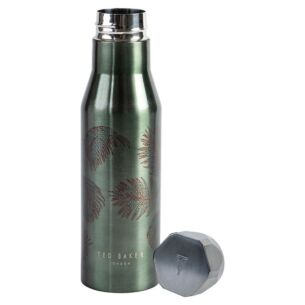 Khaki Palm Insulated Water Bottle