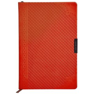 Orange Brogue Geo A5 Notebook