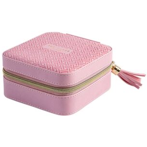 Dusky Pink T Jewellery Case