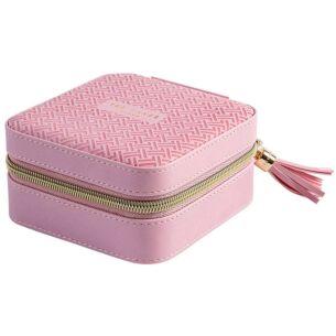 Dusky Pink T Jewellery Case