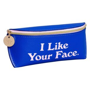 Yes Studio 'I Like Your Face' Glasses Case