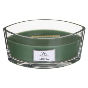 Hemp & Ivy Hearthwick Ellipse Candle