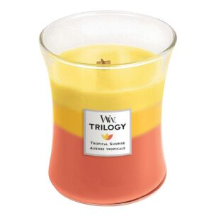 Tropical Sunrise Medium Trilogy Candle