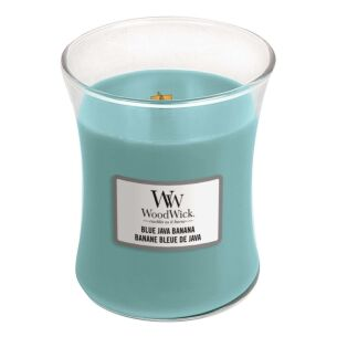 Blue Java Banana Medium Hourglass Candle