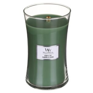 WoodWick Hemp & Ivy Large Hourglass Candle