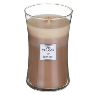 Golden Treats Large Hourglass Trilogy Candle