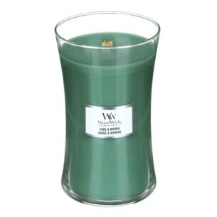 Sage & Myrrh Large Hourglass Candle