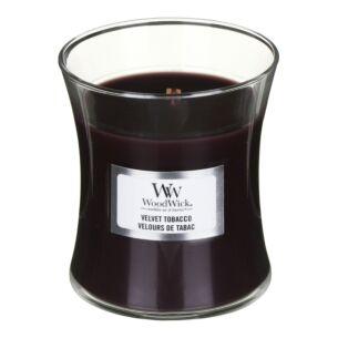 Velvet Tobacco Mini Hourglass Candle