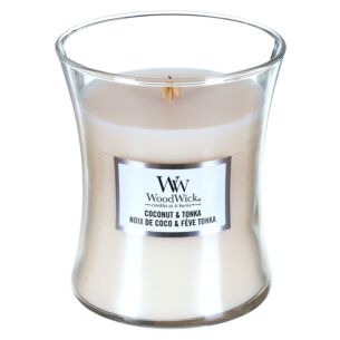 Coconut & Tonka Medium Hourglass Candle