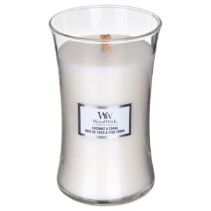 Coconut & Tonka Large Hourglass Candle