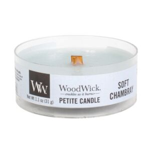 Soft Chambray Petite Candle
