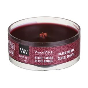 WoodWick Black Cherry Petite Candle