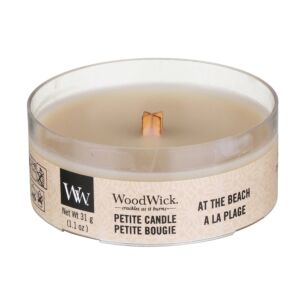 WoodWick At The Beach Petite Candle