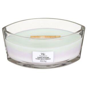 WoodWick Terrace Blossoms Hearthwick Ellipse Trilogy Candle
