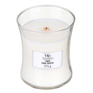 Linen Medium Hourglass Candle