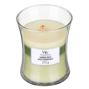 Garden Oasis Medium Trilogy Candle