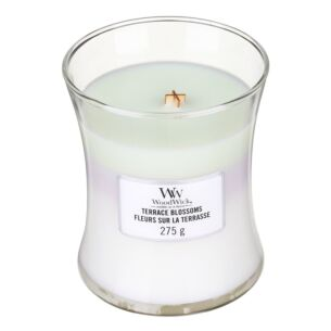 Terrace Blossoms Medium Trilogy Candle