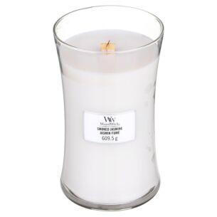 Smoked Jasmine Large Hourglass Candle