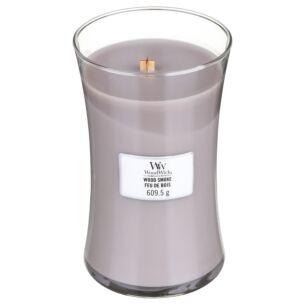 Wood Smoke Large Hourglass Candle