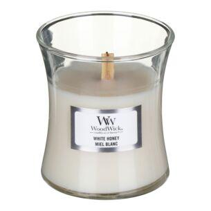 White Honey Mini Hourglass Candle