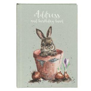 'The Flower Pot' Rabbit Address & Birthday Book
