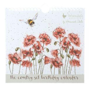 'The Country Set' Birthday Calendar
