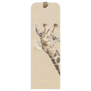 'Flowers' Giraffe Bookmark