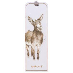 'Gentle Jack' Donkey Bookmark