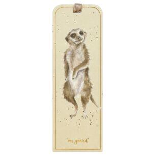 'On Guard' Meerkat Bookmark
