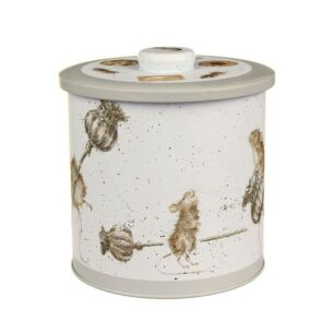 Mice Biscuit Tin