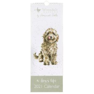 A Dog's Life Slim 2021 Calendar