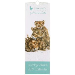 The Zoology Collection Slim 2021 Calendar