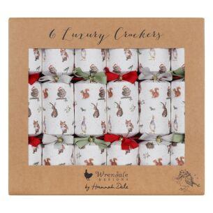 Woodland Set of 6 Luxury Christmas Crackers