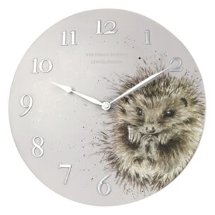 'Awakening' Hedgehog Wall Clock