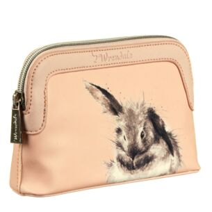 Pink Bunny Small Cosmetic Bag