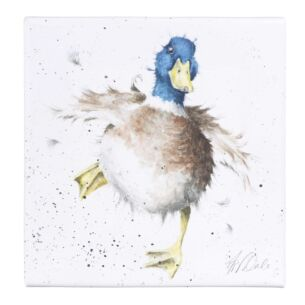 'A Waddle and a Quack' Small Canvas