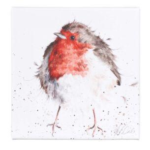'The Jolly Robin' Small Canvas