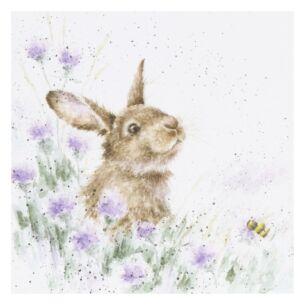 'The Meadow' Bunny Card
