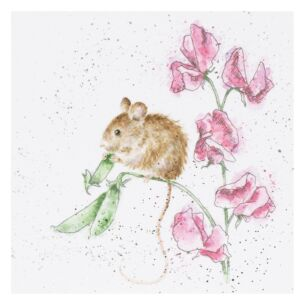 'The Pea Thief' Mouse Card